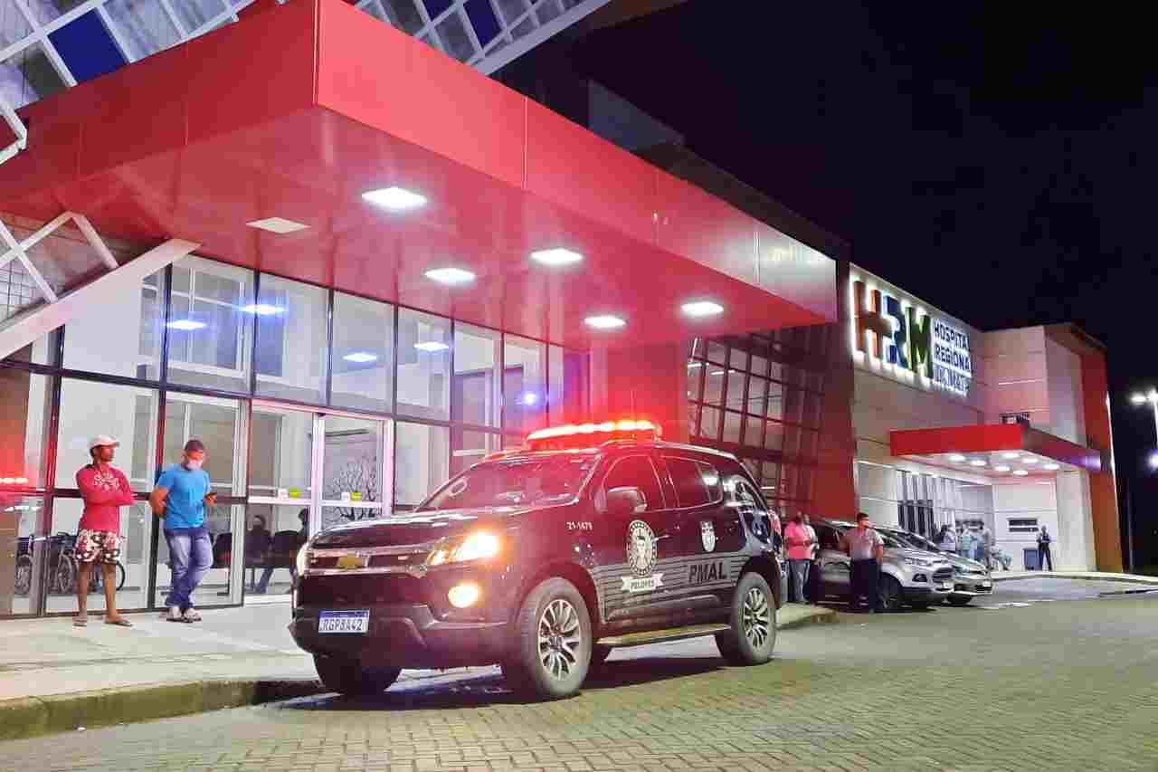 Viatura da Policia Civil no HRM | © BR104