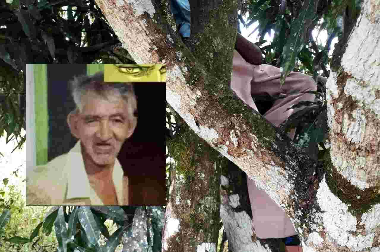 A vítima, que estava desaparecida há três dias, apresentava sinais de enforcamento | ⬆ © Cortesia ao BR104