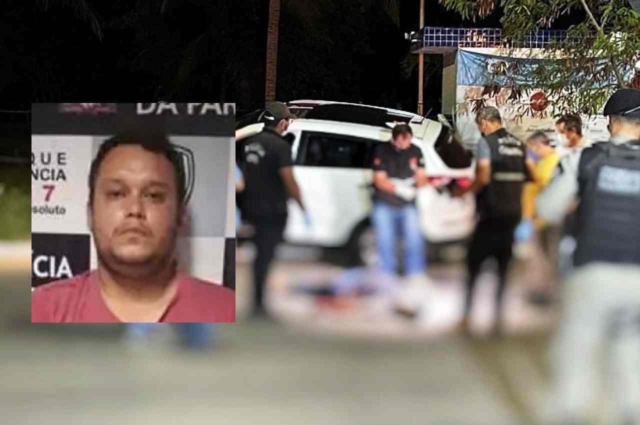A vítima foi surpreendido por dois homens armados enquanto passava de carro pela avenida Hilton Souto Maior | © Reprodução