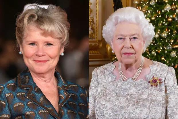 Atriz que irá interpretar a rainha Elizabeth