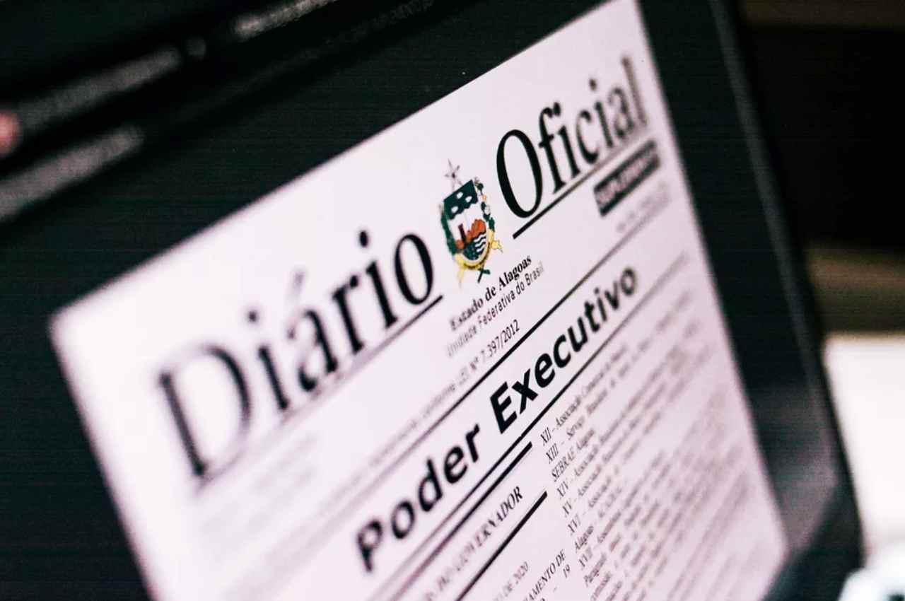 Diário Oficial do Estado de Alagoas (DOE) | © Minne SantosAscom