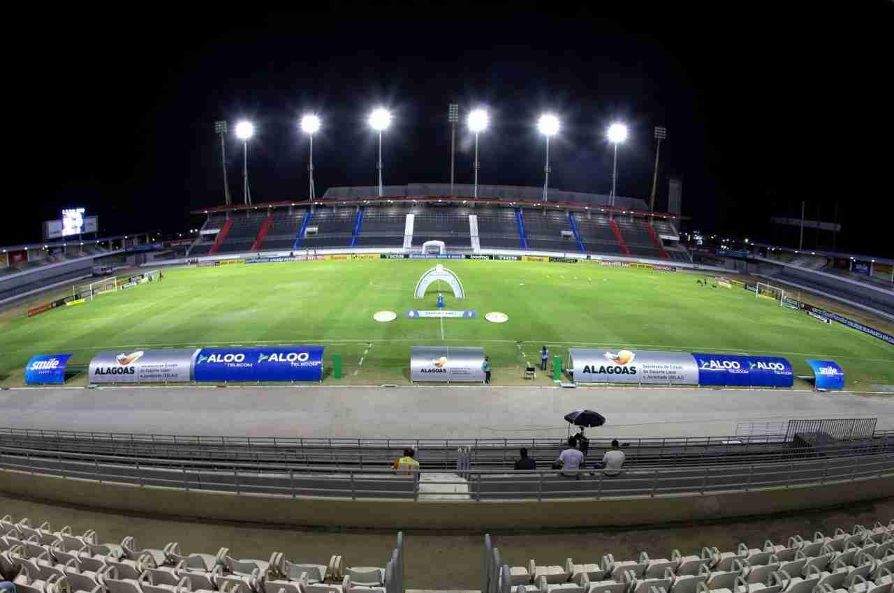 Estádio Rei Pelé, em Maceió | © Secom Alagoas