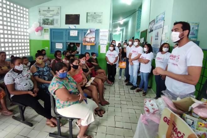 Pacientes durante o retorno do programa –© Assessoria