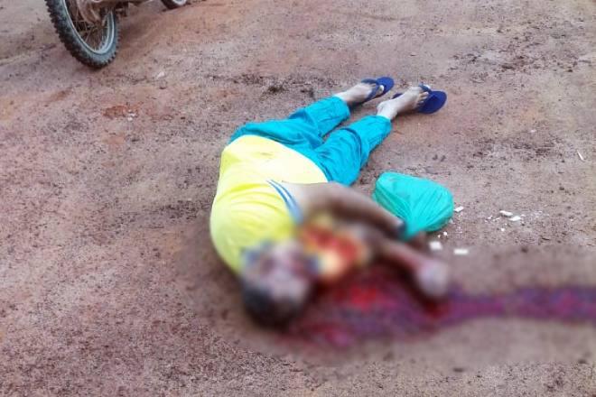 Os disparos atingiram a cabeça da vítima, que não resistiu aos ferimentos e morreu no local | © Cortesia