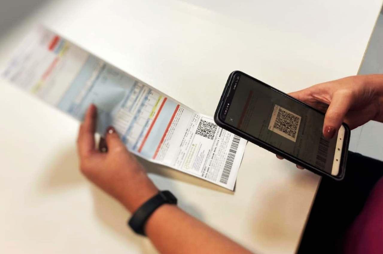 Pagamentos serão realizados através de QR Code impresso na fatura | © Divulgação
