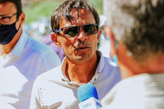 Prefeito de Messias, Marcos Silva   © Alysson Santos/BR104