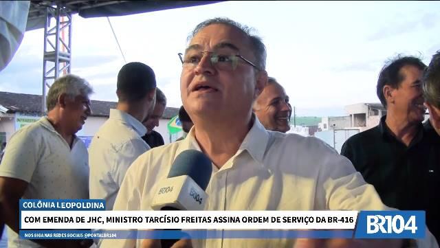 João Caldas em entrevista ao BR104