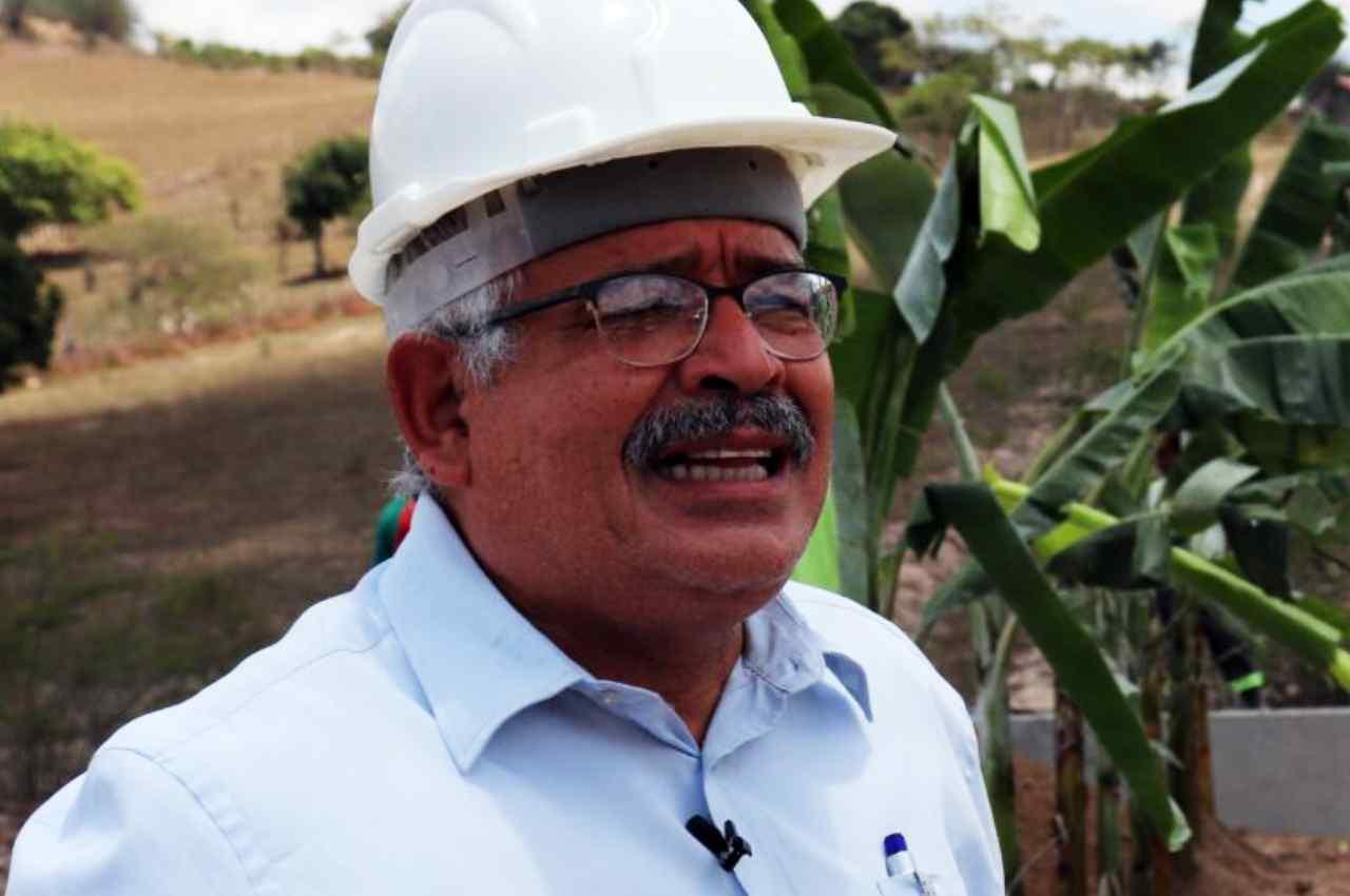 João Eudes Duarte da Silva, secretário de Infraestrutura e Urbanização | ↑ © Reprodução