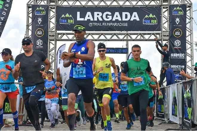 Competidores na largado do evento –© Assessoria
