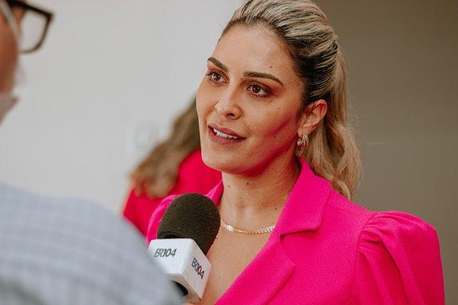 Prefeita Angela Vanessa - BR104
